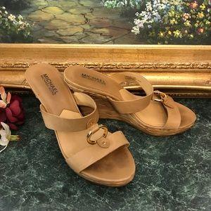 MICHAEL Michael Kors Marin Slides Wedge Sandals